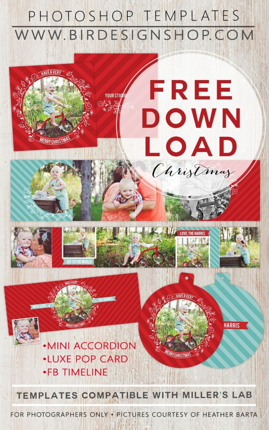 002 Singular Free Holiday Card Template High Resolution  Templates Photo For Word