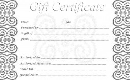 002 Singular Free Printable Template For Gift Certificate High Definition  Certificates Voucher Birthday