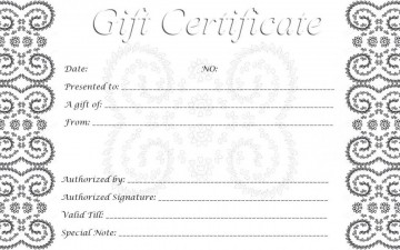 002 Singular Free Printable Template For Gift Certificate High Definition  Voucher360