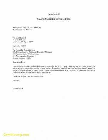 002 Singular Generic Cover Letter For Resume Concept  General Example360