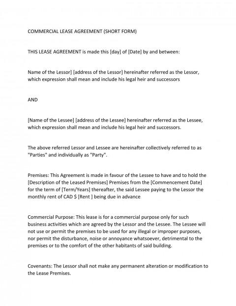 002 Singular Generic Rental Lease Agreement High Definition  Sample Ohio Md Illinoi480