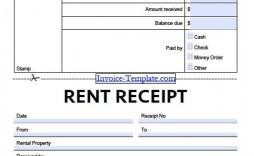 002 Singular House Rent Receipt Sample Doc Inspiration  Template India Format