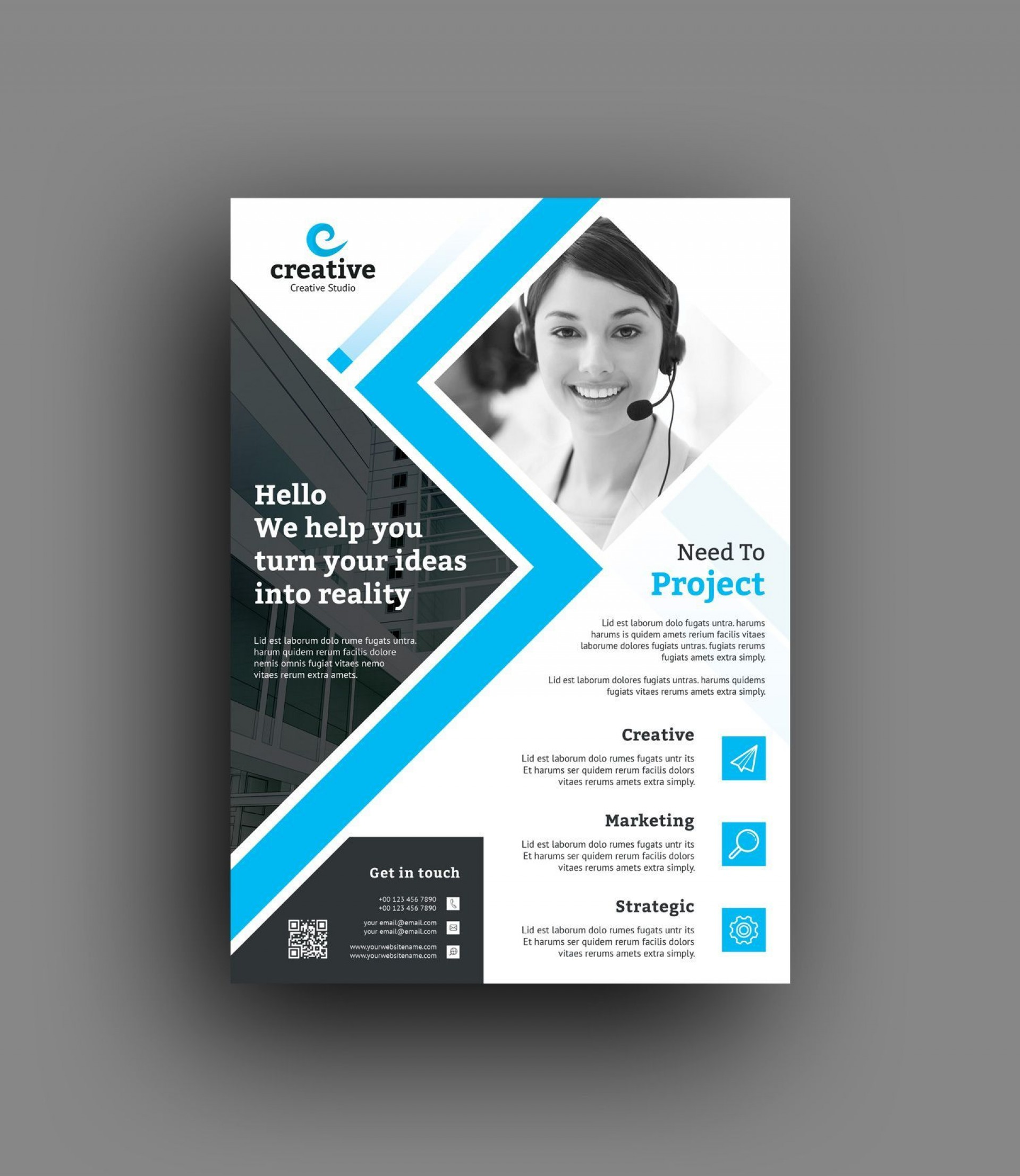 002 Singular In Design Flyer Template High Resolution  Templates Indesign Free For Mac Event1920
