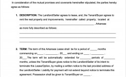 002 Singular Lease To Own Contract Template Inspiration  Free Form Commercial Agreement Car