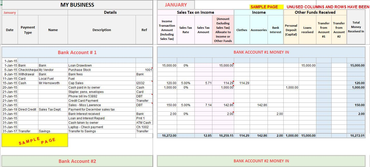 002 Singular Microsoft Excel Accounting Template Download Highest Clarity Full