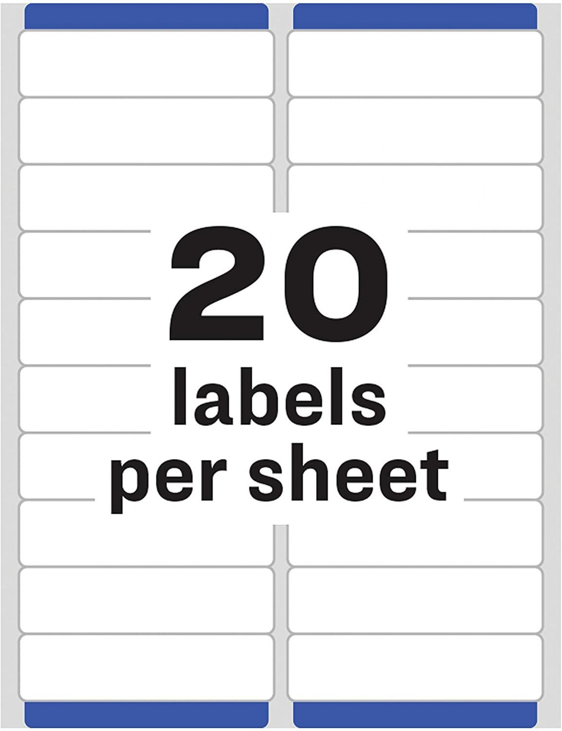 002 Singular Microsoft Word Addres Label Template 20 Per Sheet Example 1920