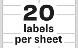 002 Singular Microsoft Word Addres Label Template 20 Per Sheet Example