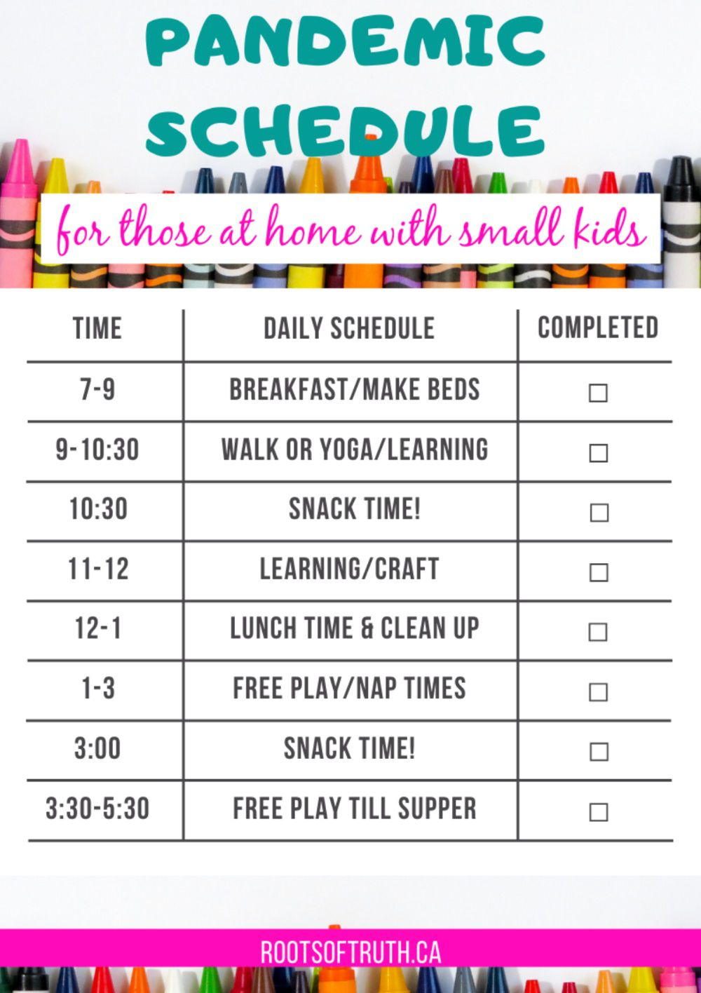 002 Singular Preschool Daily Schedule Template Highest Clarity  Planner Routine PlanFull