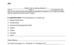 002 Singular Real Estate Purchase Agreement Template Highest Clarity  Contract California Minnesota British Columbia