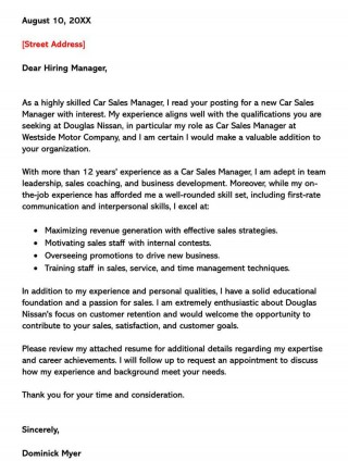 002 Singular Sale Cover Letter Template Picture  Account Manager Word Rep320