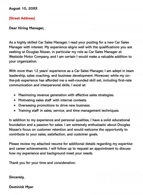 002 Singular Sale Cover Letter Template Picture  Account Manager Word Rep480