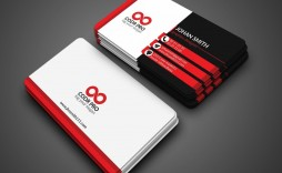 002 Singular Simple Busines Card Template Photoshop Concept