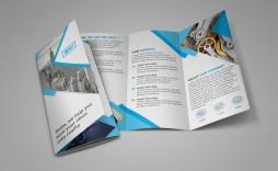 002 Singular Three Fold Brochure Template Psd Photo  A4 3 Free