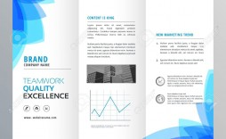 002 Singular Tri Fold Pamphlet Template Sample  Brochure Free Google Doc Word 2007