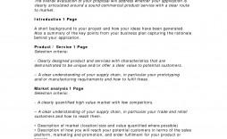 002 Staggering Busines Plan Template Pdf Design  Restaurant Sample Free Example Uk Doc