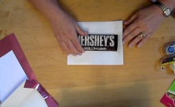 002 Staggering Candy Bar Wrapper Template Measurement Image  Measurements Dimension