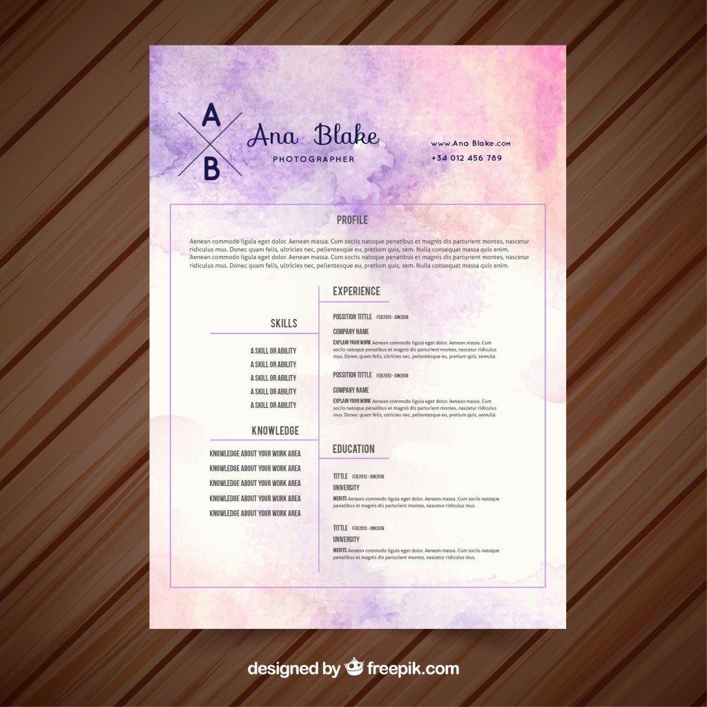 002 Staggering Creative Resume Template Freepik Inspiration Large