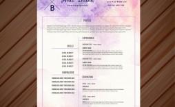 002 Staggering Creative Resume Template Freepik Inspiration