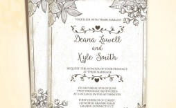 002 Staggering Free Download Wedding Invitation Template For Word Photo  Indian Microsoft