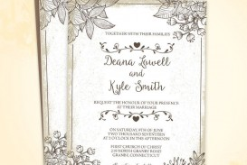 002 Staggering Free Download Wedding Invitation Template For Word Photo  Microsoft Indian