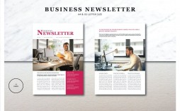 002 Staggering Indesign Newsletter Template Free Image  Cs6 Email Adobe Download
