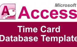 002 Staggering Microsoft Acces Employee Time Card Template Highest Quality