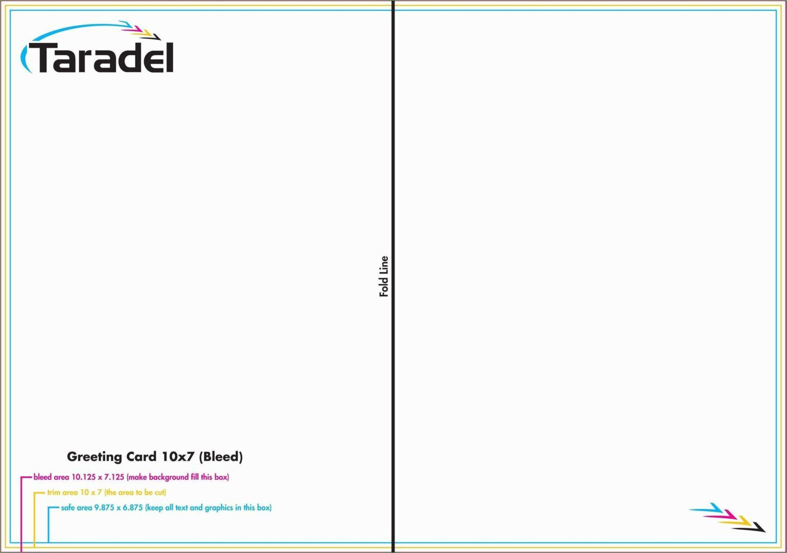 002 Staggering Quarter Fold Card Template Word Blank Image Full