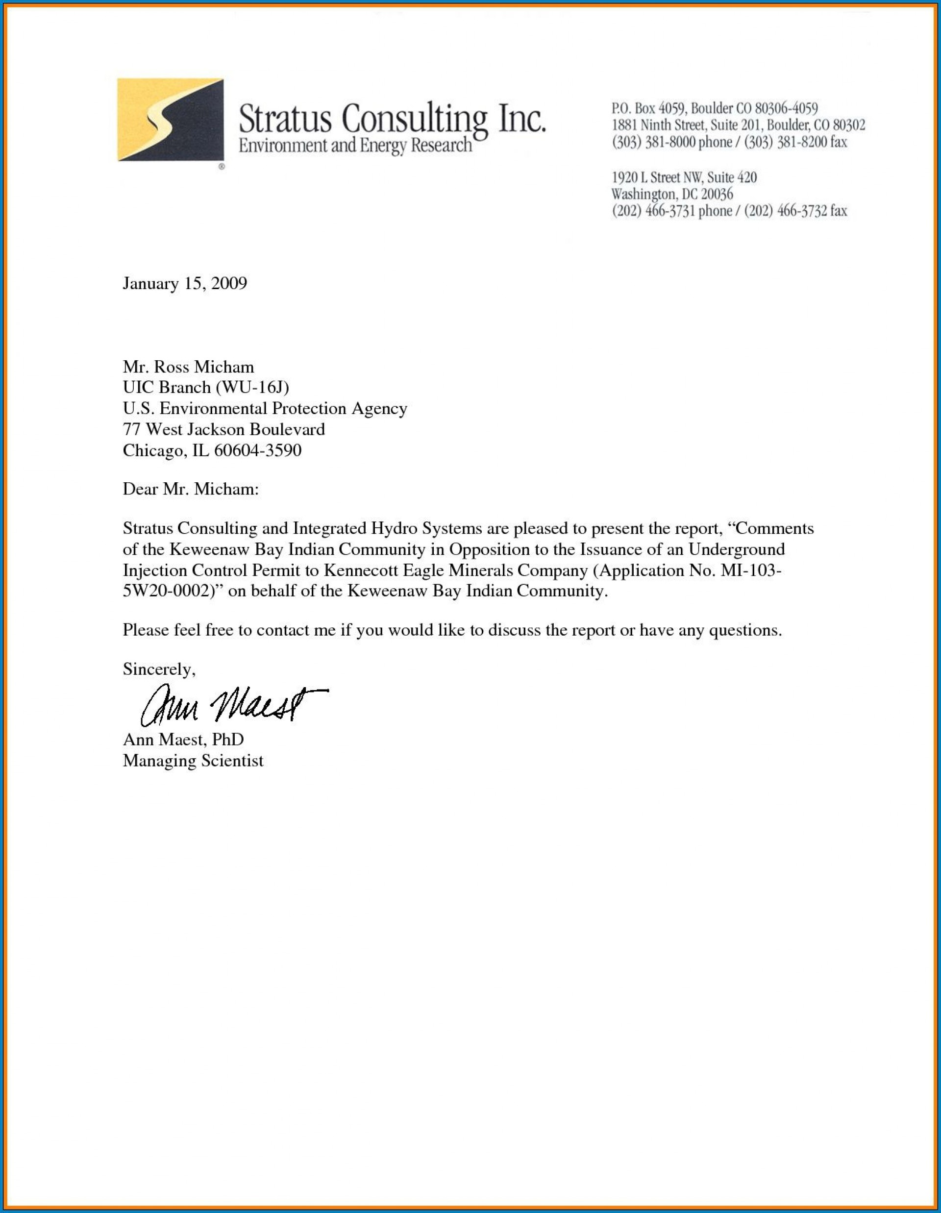 002 Staggering Sample Busines Letter Template Inspiration  Of Intent Formal Free1920