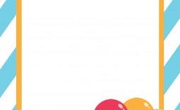 002 Stirring Blank Birthday Invitation Template For Microsoft Word Highest Quality