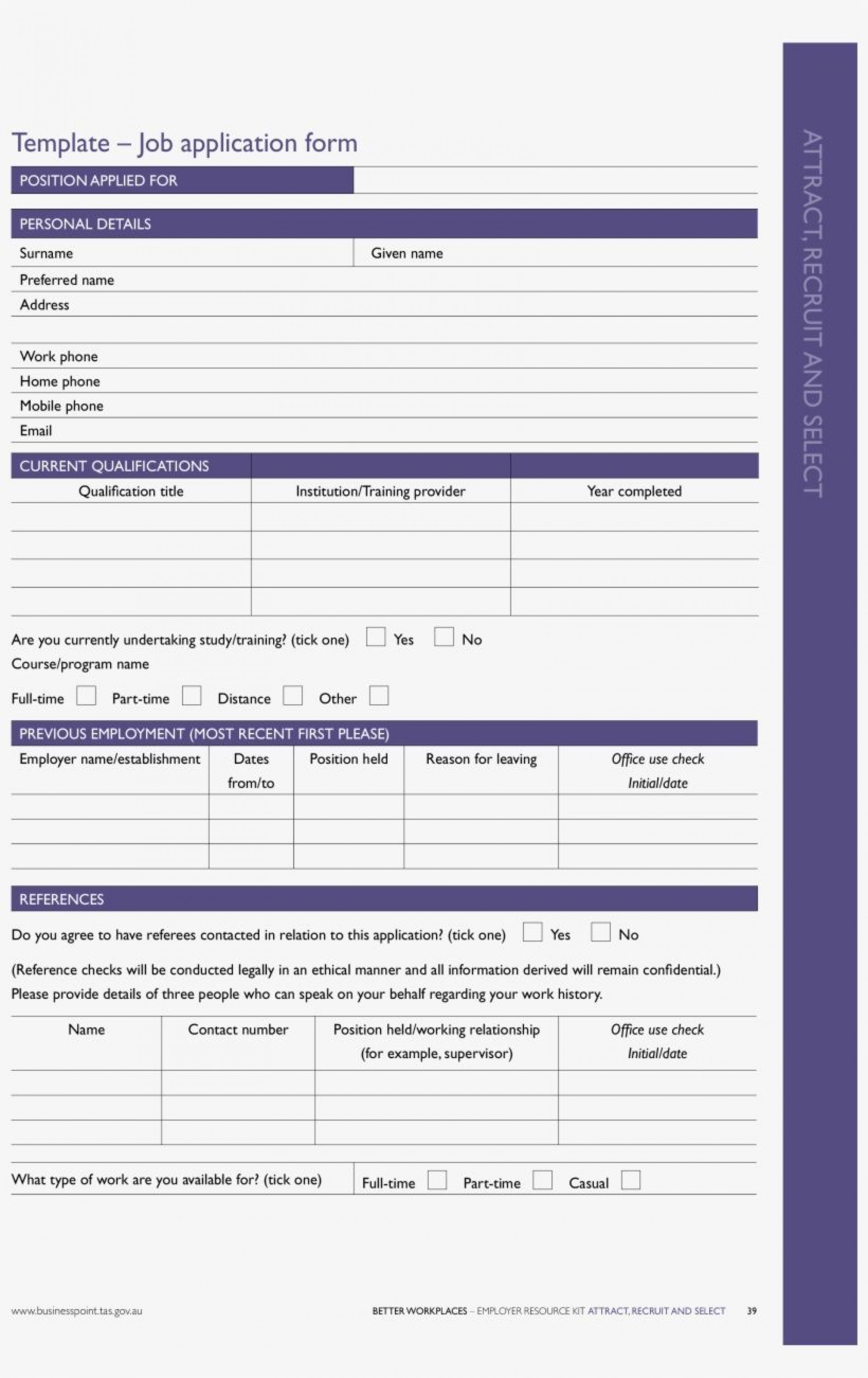 002 Stirring Free Employment Application Template Word Image 1920