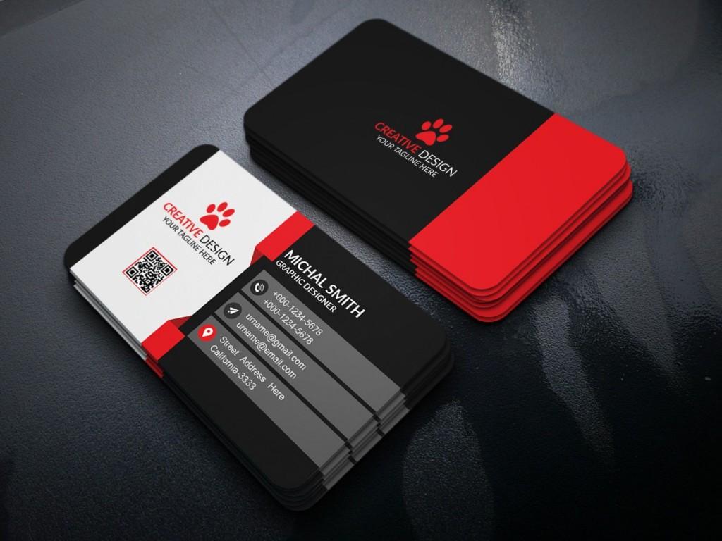 002 Stirring Free Visiting Card Design Psd Download High Def  Busines RestaurantLarge