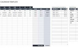 002 Stirring Google Doc Calendar Template 2020 Concept  Drive Sheet Weekly