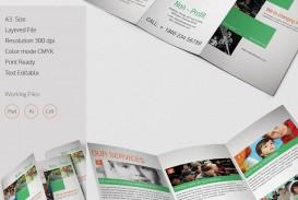 002 Stirring Indesign Trifold Brochure Template Photo  Tri Fold A4 Bi Free Download