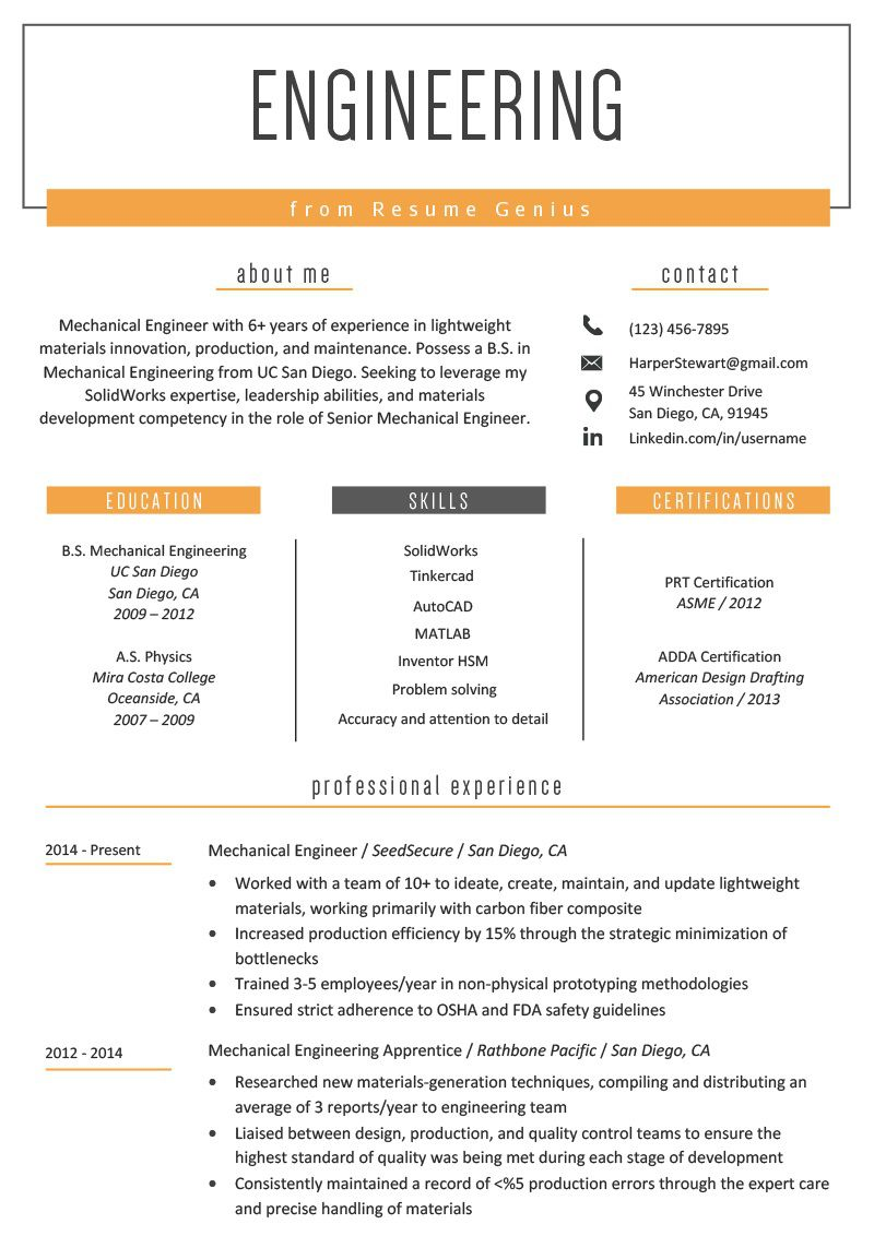002 Stirring Mechanical Engineering Resume Template Example  Templates Engineer Cv Free Download Diploma Fresher Format Word DocumentFull