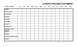 002 Stirring Monthly Income Statement Format Excel Image  Free Download