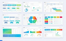 002 Stirring Project Management Dashboard Powerpoint Template Free Download High Resolution