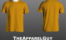 002 Stirring T Shirt Template Psd Highest Clarity  Design Mockup Free White Collar