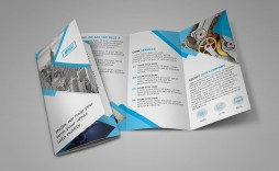 002 Stirring Three Fold Brochure Template Psd Free Sample  3 Download Tri Photoshop