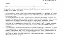 002 Striking Addendum Form For Rental Agreement Design