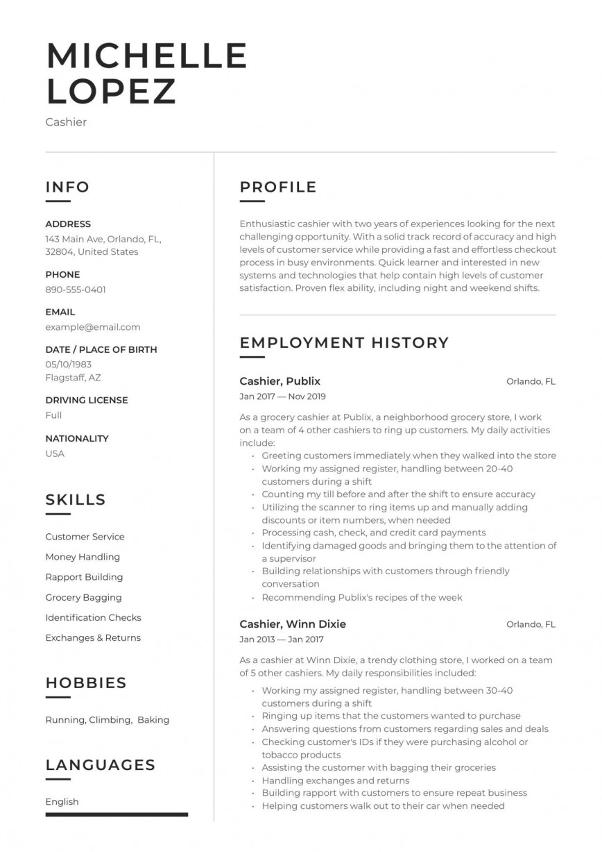 002 Striking Customer Service Resume Template Concept  Cv Download Manager Free