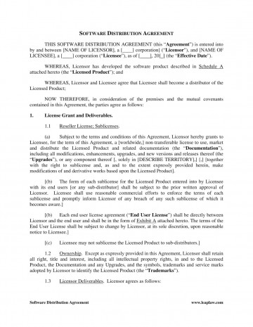 002 Striking Distribution Agreement Template Word High Resolution  Distributor Exclusive Contract360