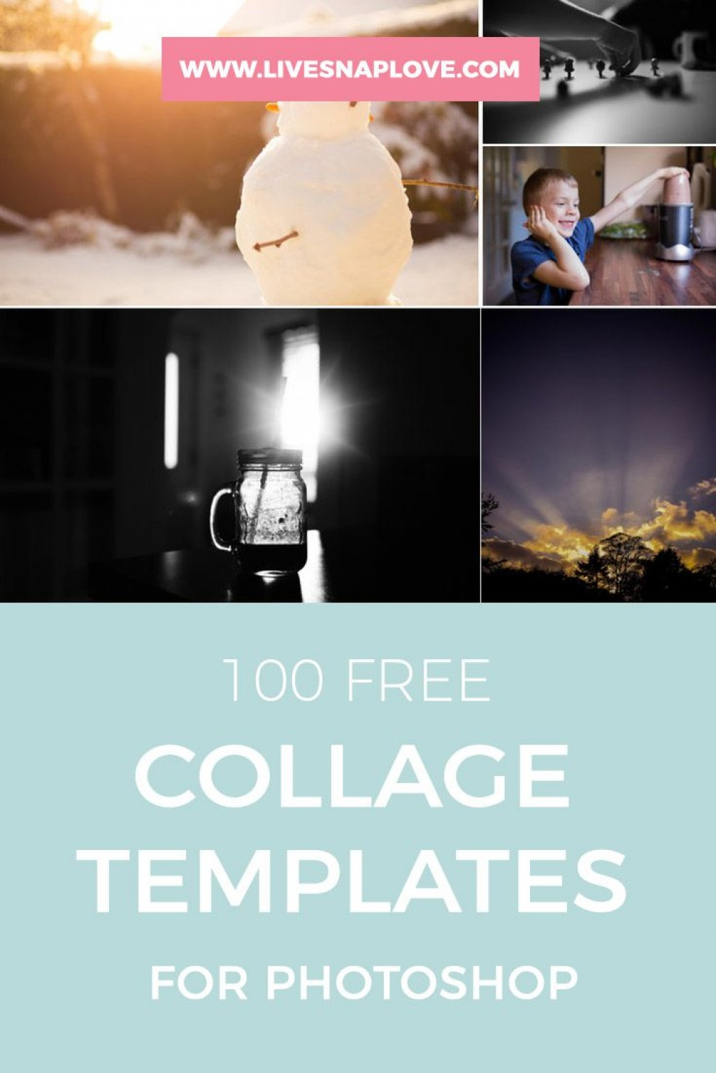 002 Striking Free Photoshop Collage Template Example  Templates Psd Download Photo For ElementLarge