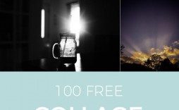 002 Striking Free Photoshop Collage Template Example  Templates Psd Download Photo For Element