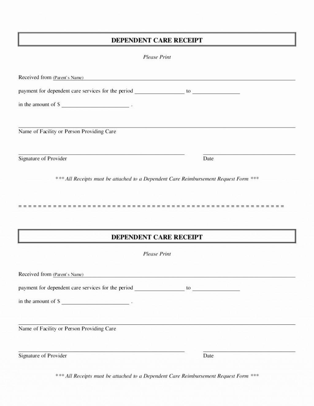 002 Striking Free Printable Receipt Template Concept  Blank Cash Microsoft Word UkLarge