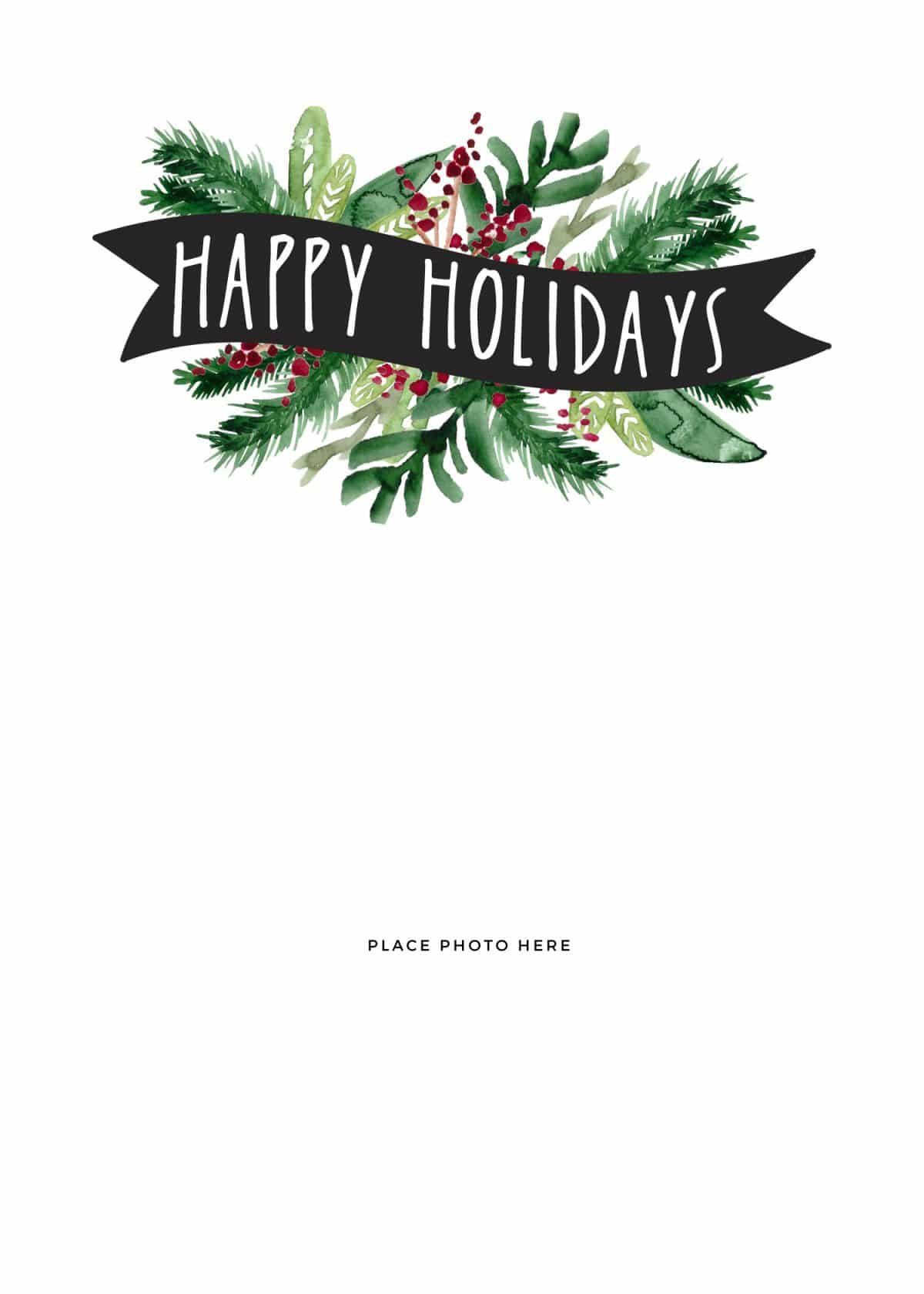 002 Striking Free Printable Xma Card Template High Resolution  Templates Christma Making Online To ColourFull