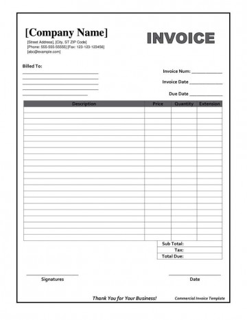 002 Striking Invoice Template Pdf Fillable High Resolution  Commercial360