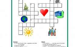 002 Striking Printable Crossword Puzzle For Kid High Definition  Kids