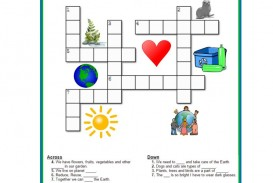 002 Striking Printable Crossword Puzzle For Kid High Definition