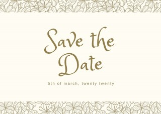 002 Striking Save The Date Postcard Template High Definition  Diy Free Birthday320