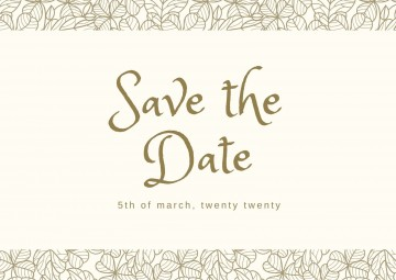 002 Striking Save The Date Postcard Template High Definition  Diy Free Birthday360